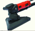 Hand-held drywall sander with round pad and triangle pad HM225R