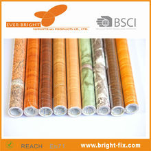 Wooden Grain /Marble Pvc Self-adhesive Film Rolls For Home Deco.