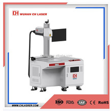 20w 30w fiber laser ear tag metal marking machine for animal ear tag