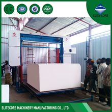 Automatic polyurethane sponge horizontal foam cutting machine