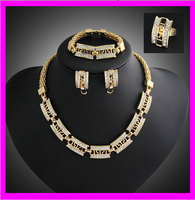KD5282 Fashion 2015 ladies necklace earrings set jewelry wholesale