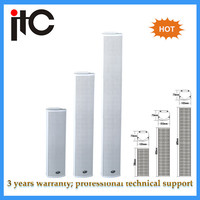 High quality pa system waterproof column speaker for outdoor public address