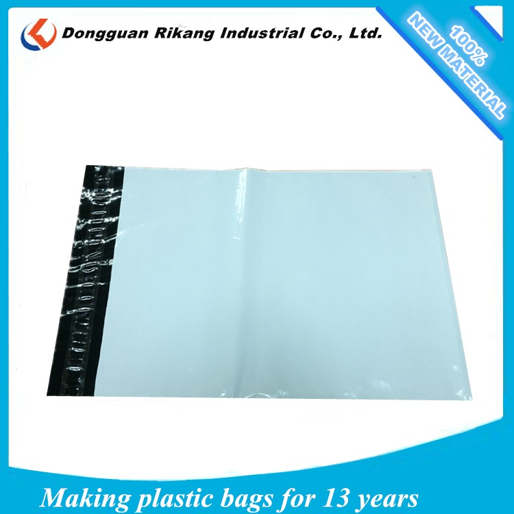 White poly mailing bags for mailing shoes / online shops printing courier bag