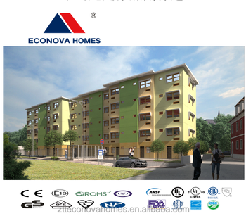 Econova solar home with panel system and multi-storey from China for multi-function
