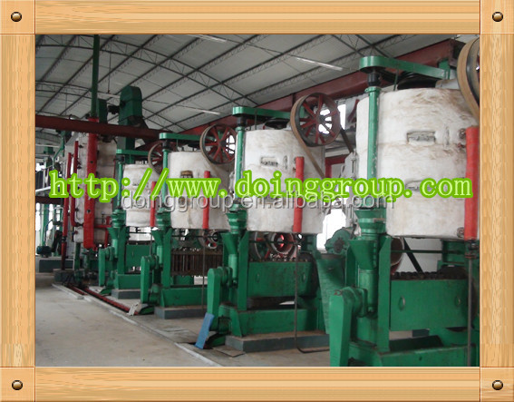 God-given soybean oil milling equipment