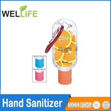 promotional gifts mini portable jelly hand sanitizer silicone holder,figure liquid hand soap case