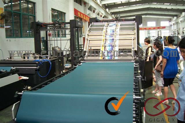 GIGA LXTMB-F Series Semi-automatic carton box converting machine