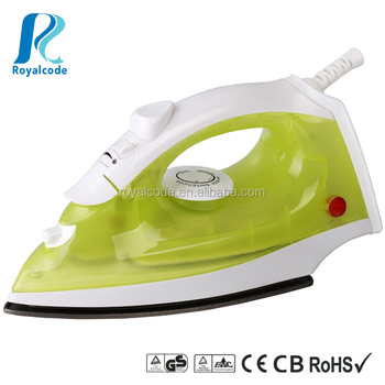Commercial steam iron 1200W, Stainless steel base is Popular in Europe