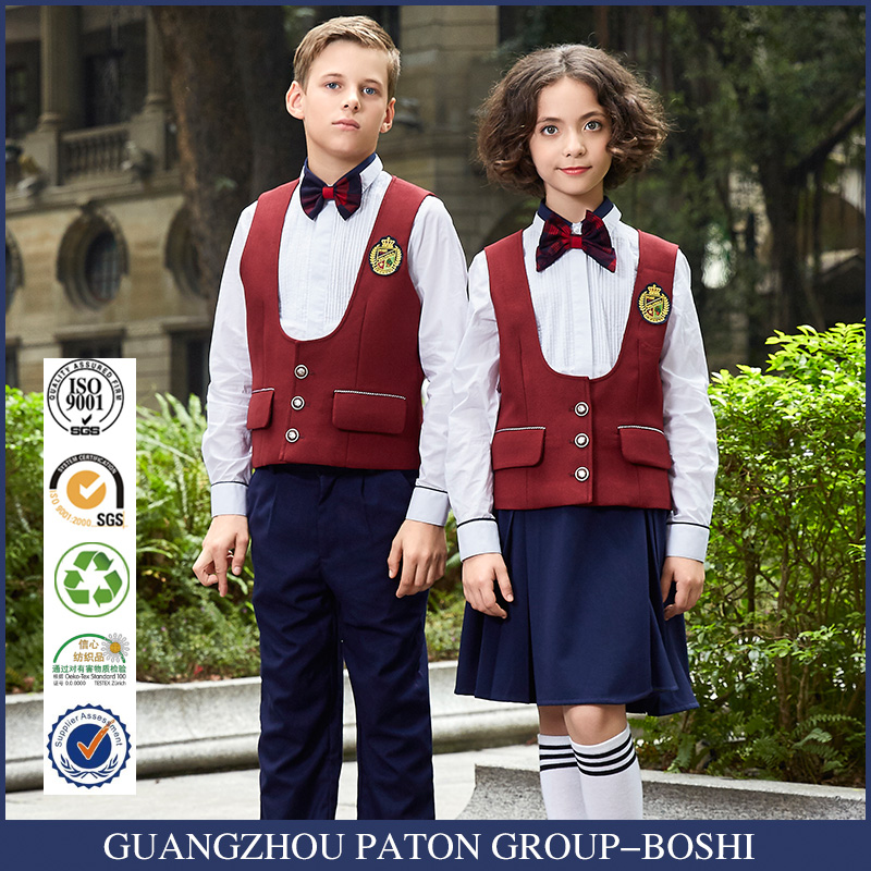 New Arrival international high School Uniforms Design With Pictures