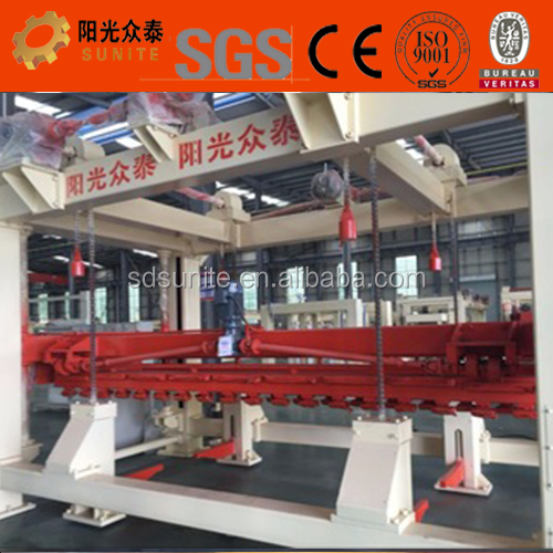 Germany Ytong technology AAC foam brick production line , Professional light weight foam block equipment supplier
