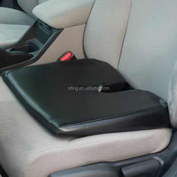 Orthopedic Seat Cushion Relieves Back Pain And Improves Posture Black