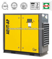 4.9-5.6m3/min 7.5bar 50HP 37KW air compressor air&water cooled Belt drive type , screw air compresso