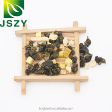 Organic Chinese dried fruit tea, healthy and slimming blended tea, pineapple oolong tea