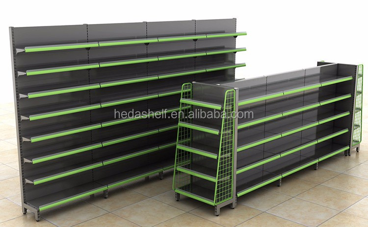 Customized one-stop supermarket racks equipment design
