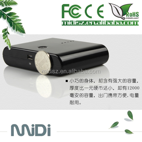 Slim Small Power Bank Steamed Bun 20000mAh