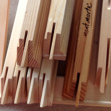 canvas wooden stretcher bars / wooden inner frame for painting