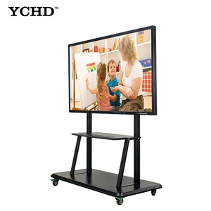 Latest 70 ultra thin multi touch flat screen tv for classroom