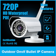 CCTV Camera System 1 Megapixel CMOS Weatherproof Auto Focusing IP Camera