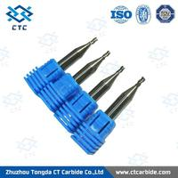 Professional solid carbide diamond coated carbide end mill