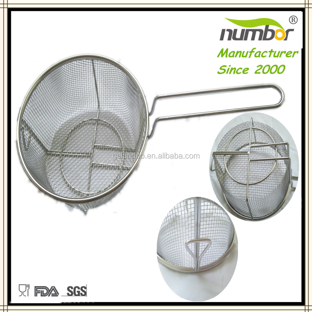 stainless steel used deep fryer french fries baskets