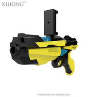 Cool simulation toy ar gun with cell phone stand holder AR gun toy with 3D AR games