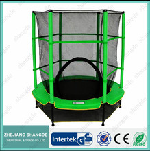 sales well 55inch mini bungee commercial aldi trampoline with safety enclosure
