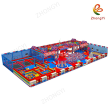 Commercial Kids Colorful naughty castle Indoor Playground Garden Playing Equipment