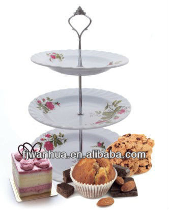 3 tier plate