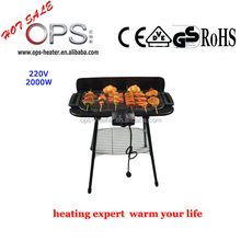 Electrical folding legs barbecue grill for sale