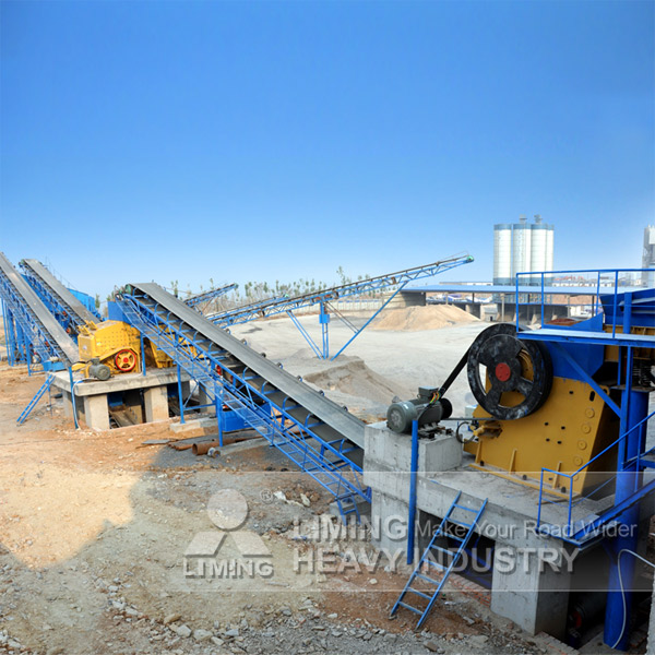 Stone Belt Conveyor for River, Stone Crushing Line Piece