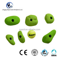 GRP material rock climbing wall handhold