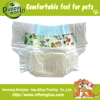 high qualiy disposable dog diaper