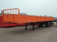 side wall cargo trailer van trailer tri-axle on sale