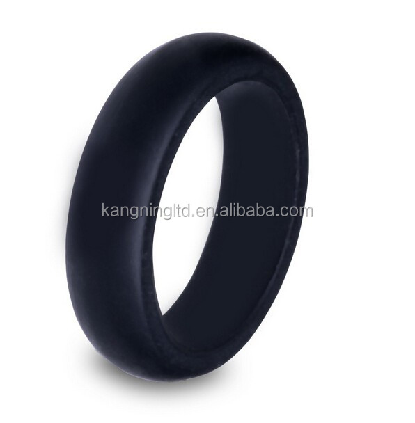 Silicone Wedding Ring, Perfect for All Outdoor Activities, Sports, Workouts and Physical Jobs
