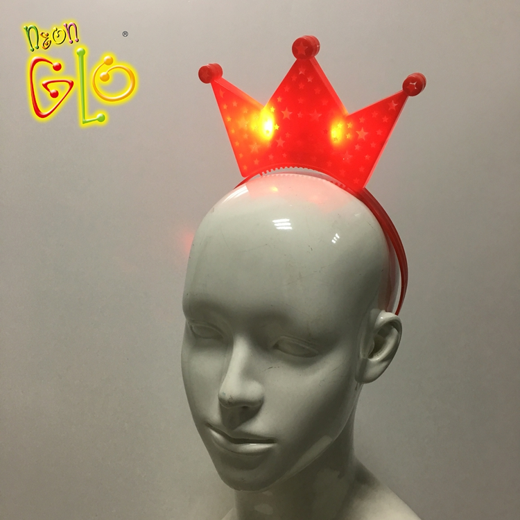 Light Up LED Crown <strong>Headband</strong> birthday <strong>headband</strong>