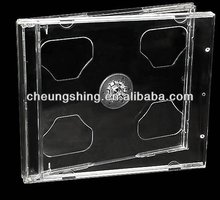 10.4 mm cd jewel cases with clear tray