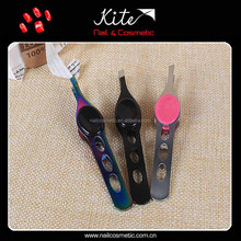 Girls Eyebrow Tweezers Personalized Lady Cosmetics Scissor Handle Tweezer