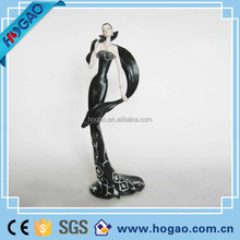 Polyresin elegent Lady Figurines