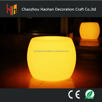 Glowing led furniture led table led chairs