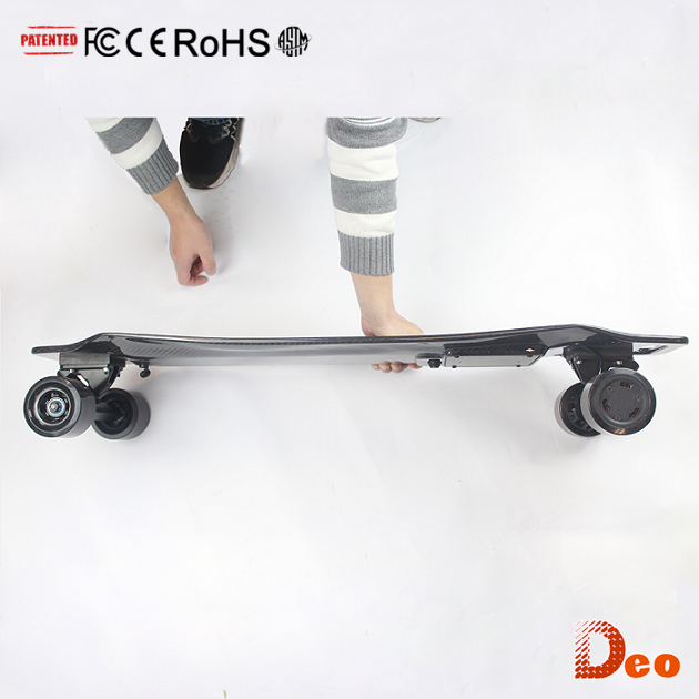 CE RoHS FCC ASTM UL Best Price Max Load 130Kg Light Weight Double Drive One Wheel Electric Skateboard