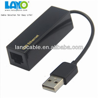 Fast speed mini 5pin usb cable to rj45 ethernet adapter