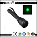 Knob zoomable night hunting flashlight for tactical snipe rechargeable torch