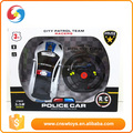 steering wheel control RC car w light policeman sound
