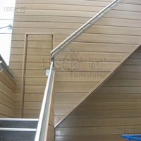 PVC based eco-friendly and recyclable exterior wall cladding plastic