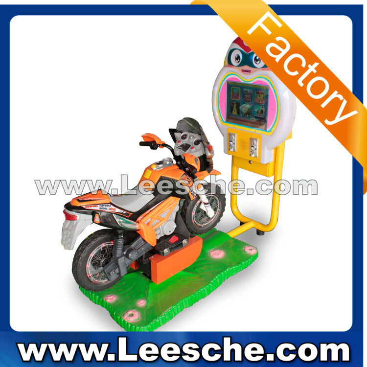 2015 newest version video swing game machine amusement park 3d motor horse car Kiddie ride coin operated games for sale