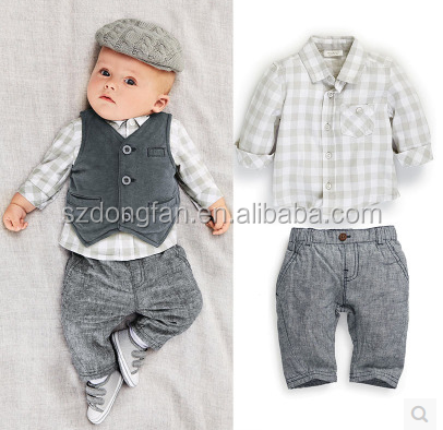 Wholesale Baby Boys Clothes 0 1 Year Old Kids Clothing