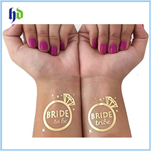 2017 China Factory Cheap Direct Sale Bachelorette Party Custom Temporary Tattoos Bachelorette Party Favor
