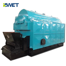 High-performance environmental double barrel longitudinal induction heating steam boiler