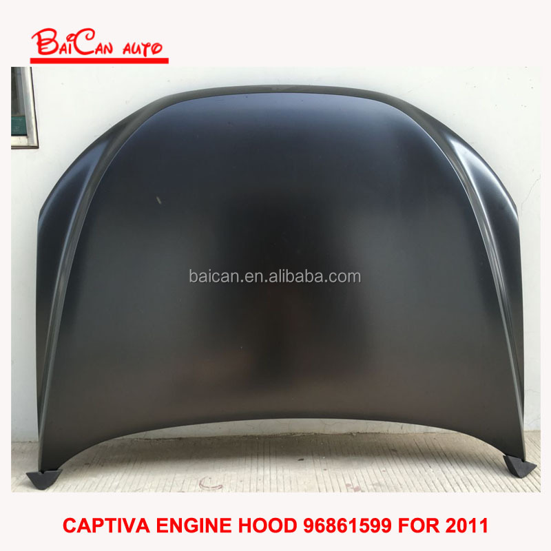 Captiva auto engine hoods for Chevrolet car engine hood covers of China's biggest exporter