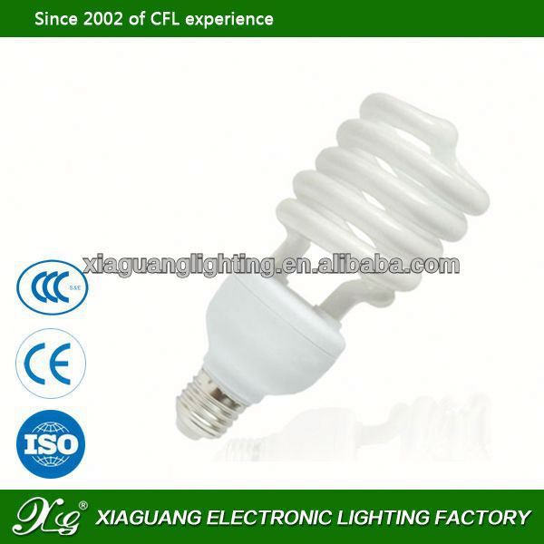 E27 High Power cfl half energy saving lamp assembly line